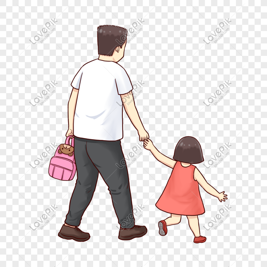Bapa Dan Anak Perempuan Yang Hangat Gambar Unduh Gratis Imej 401248983 Format Psd My Lovepik Com
