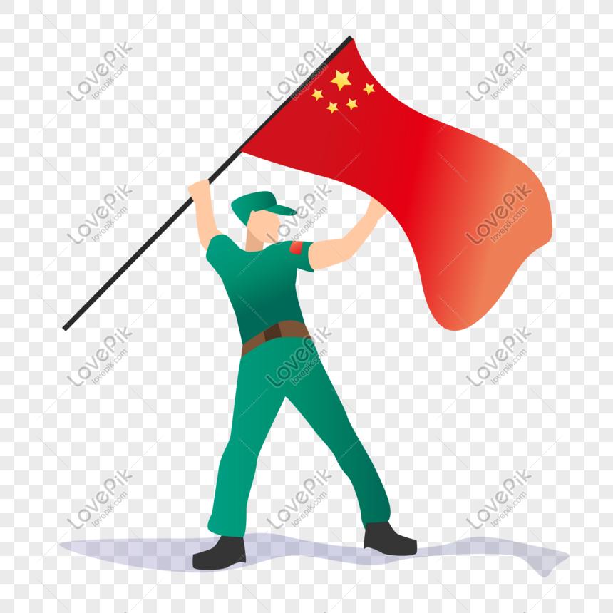Bendera Asli Angkat Tinggi Orang Vektor Ketenteraan Gambar Unduh Gratis Imej 401249862 Format Ai My Lovepik Com
