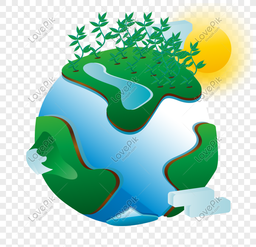 wereld milieudag aarde vector png
