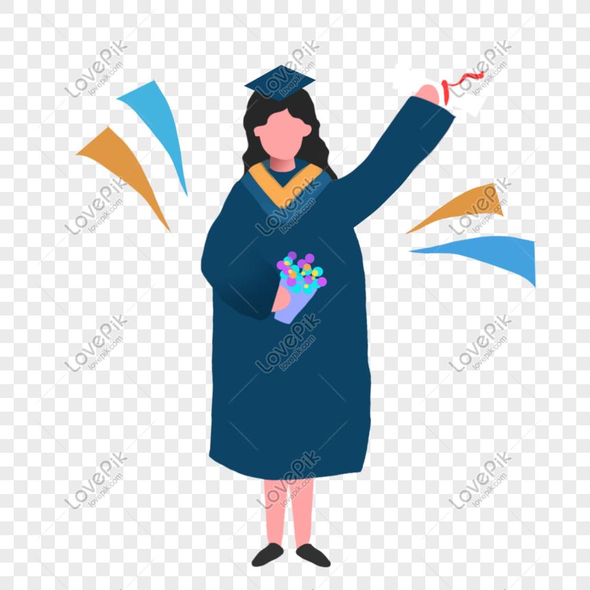 شهادة تخرج ملفوفة Png