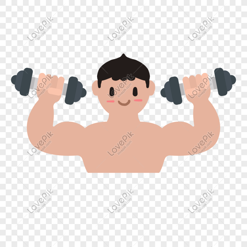 hombre musculoso para pintar