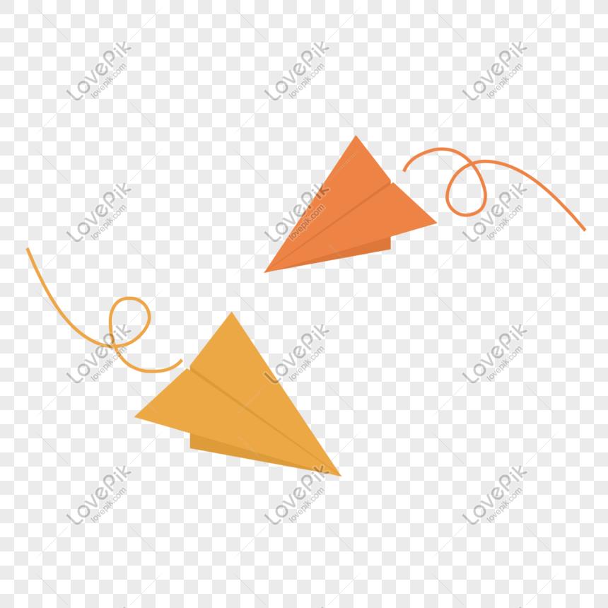Kapal Terbang Origami Gambar Unduh