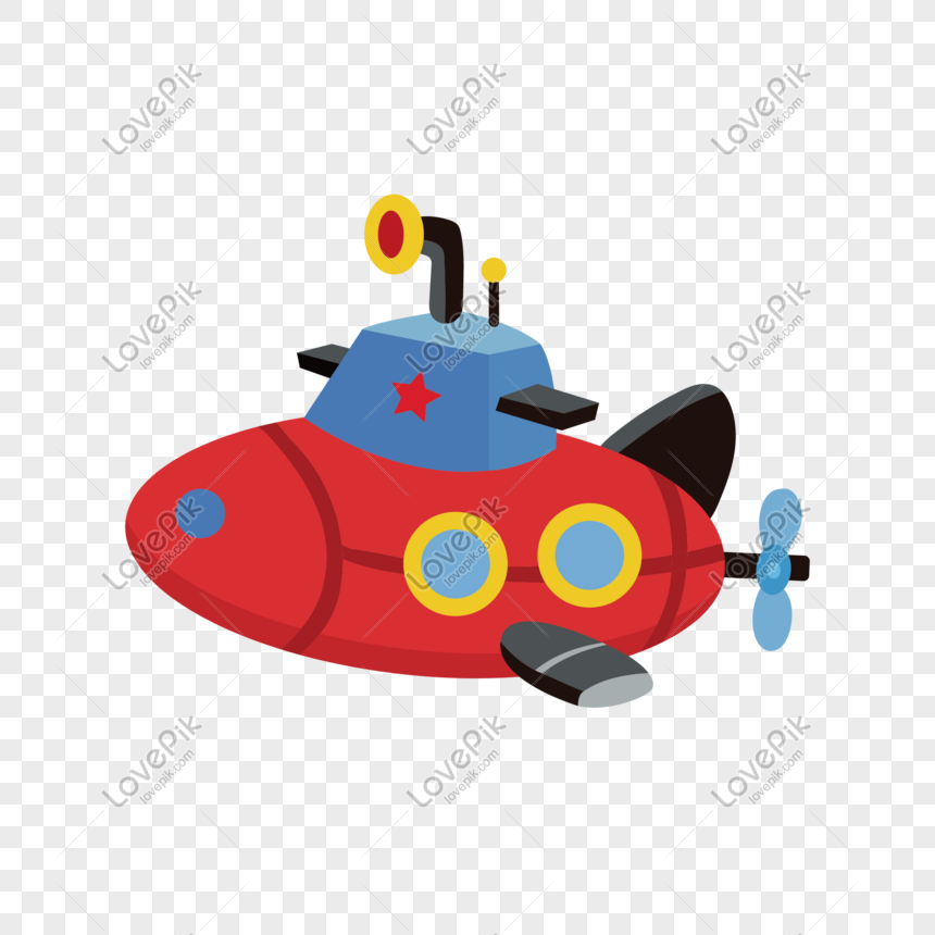 Childrens day vector small submarine png image_picture free download