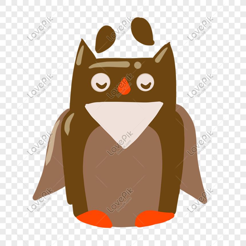 Ilustrasi Kartun Burung Hantu Kreatif Gambar Unduh Gratis Grafik