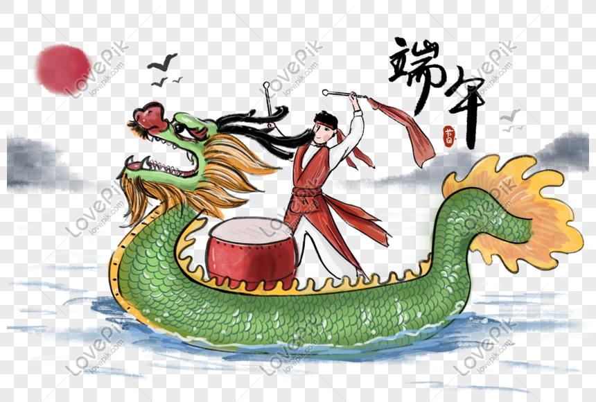 png端午節赛龍舟活动 png