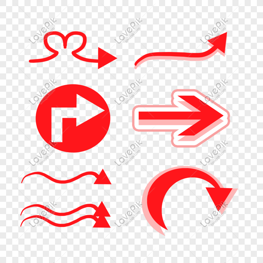 red arrow picture png