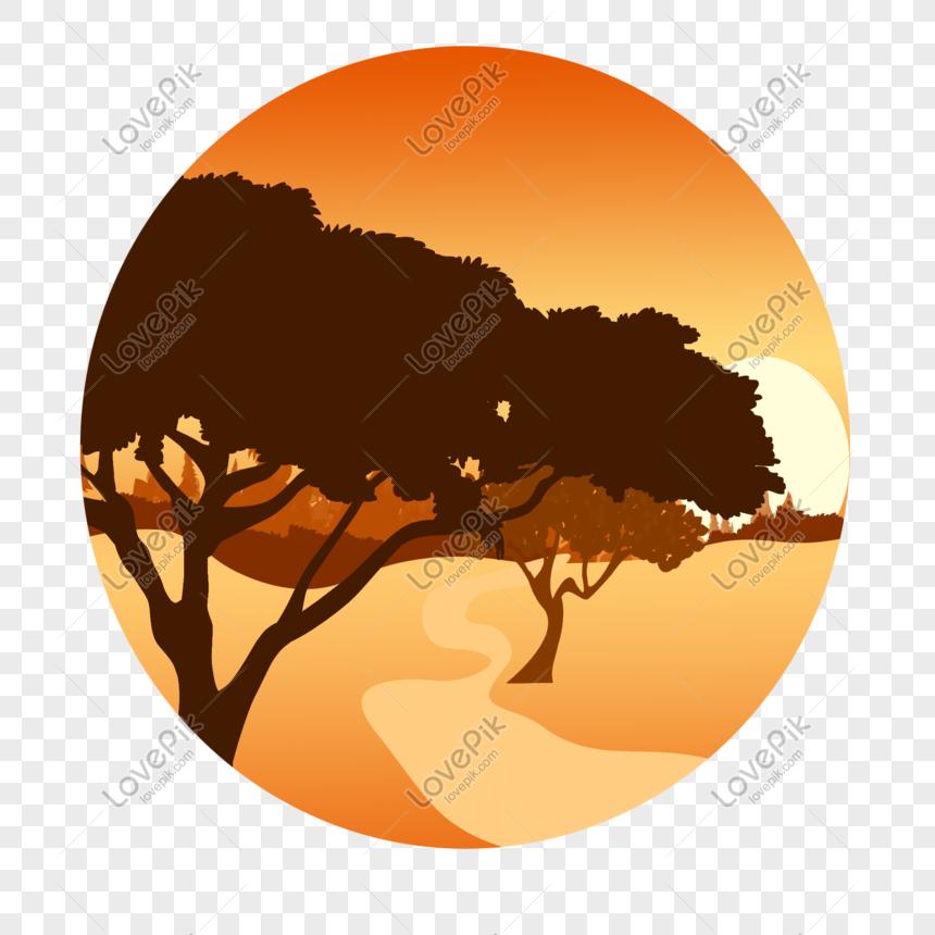 Sunset Illustration Png Image Picture Free Download 401290875 Lovepik Com