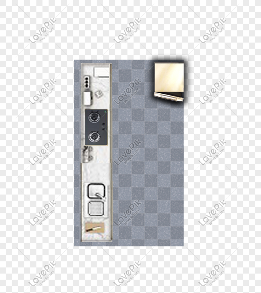 Kitchen Top View Png Image Picture Free
