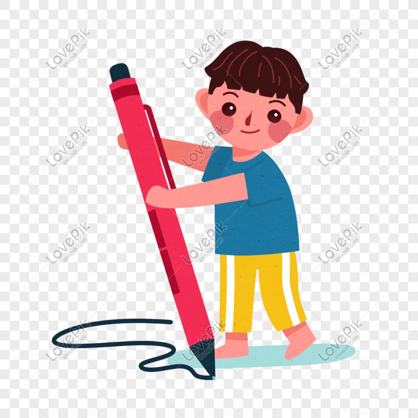 Lovepik صورة Psd 401302822 Id الرسومات بحث صور كتابة الطفل