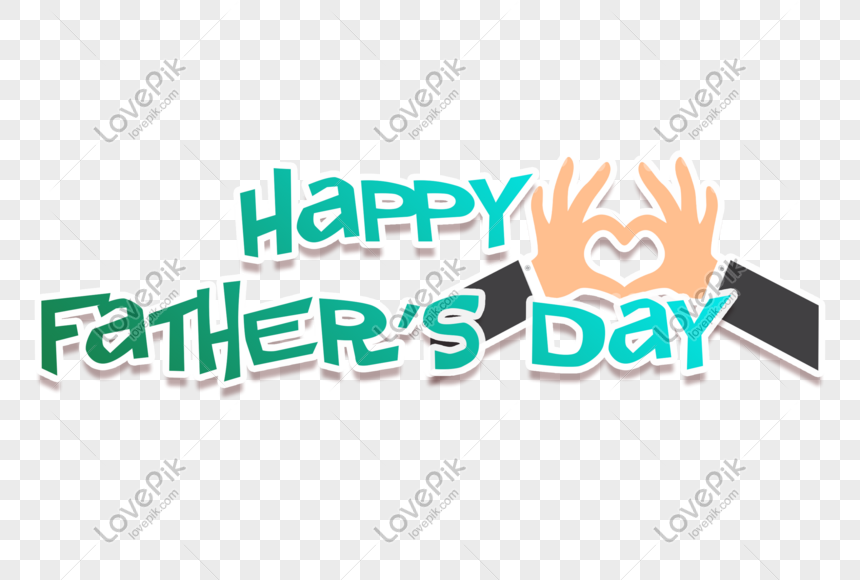 little fresh fathers day happy fathers day handwritten word ar png