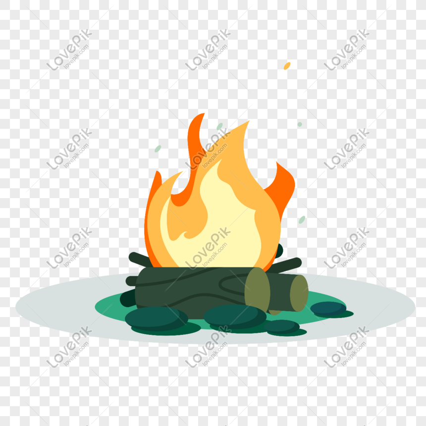Fire Fire Icon Free 抠 Vector Illustration Material Png