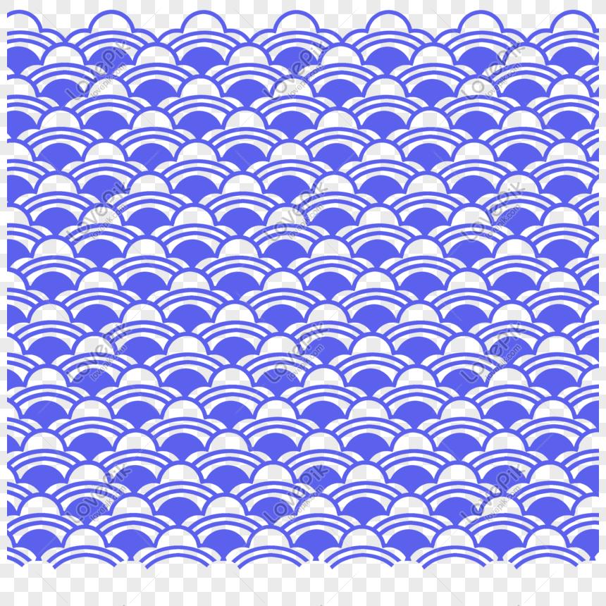 Sơ đồ Cơ Bản Mẫu Vải Vảy Cá Vải Màu Xanh Hình ảnh định