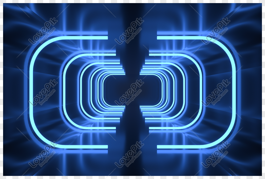 saluran biru