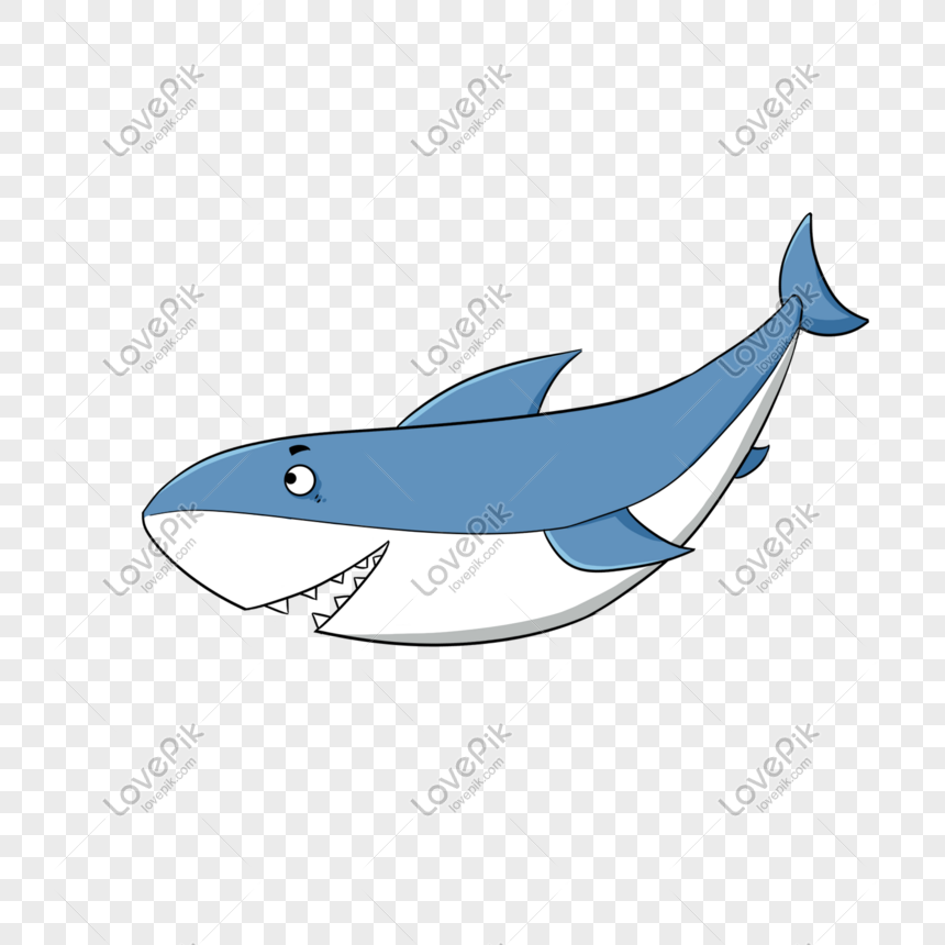 72 Gambar Hewan Ikan Hiu Kartun Terbaik