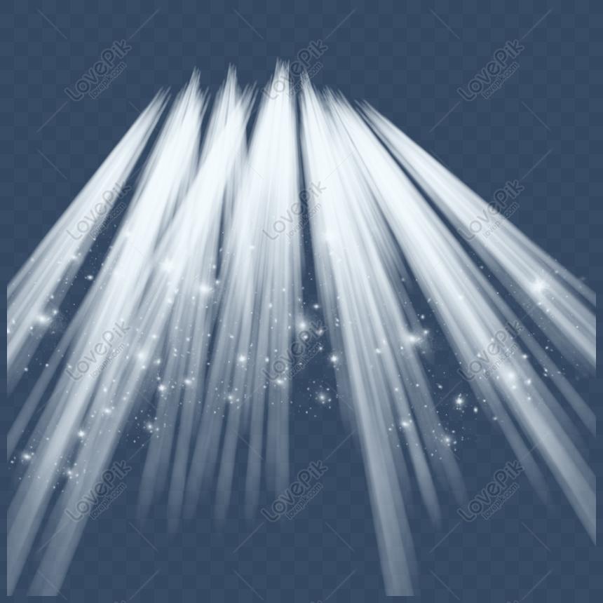 white spotlight light effect png