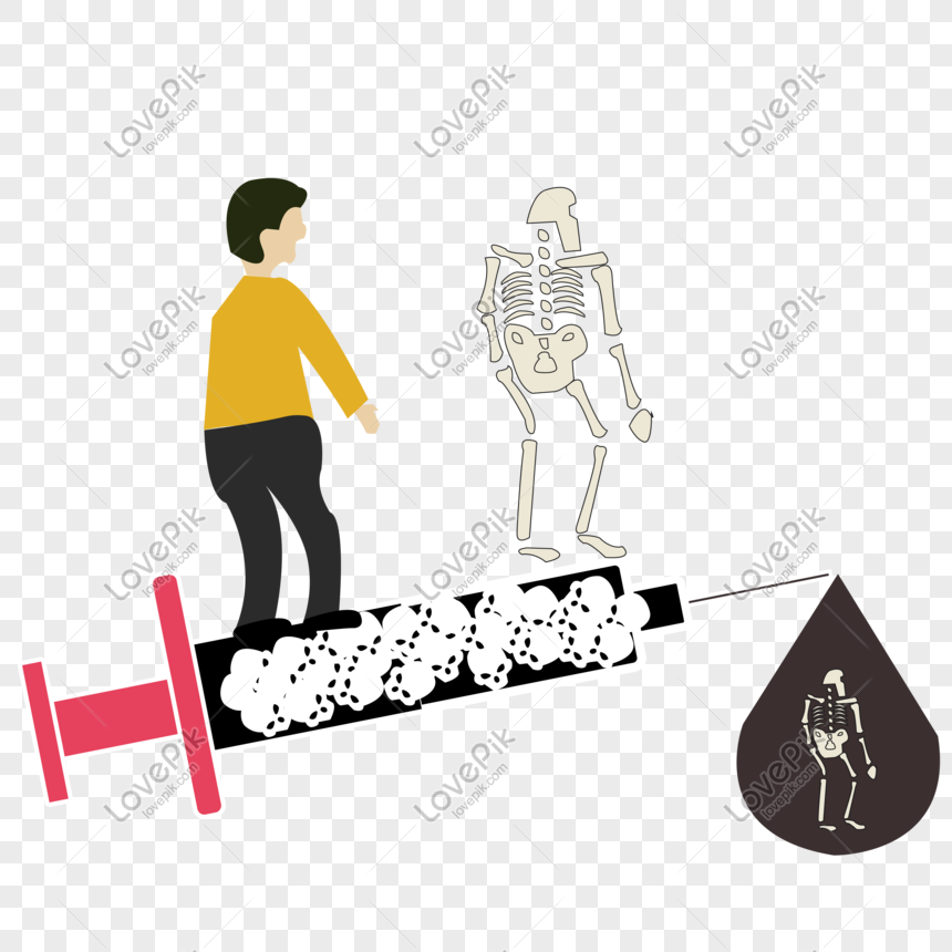 ai cartoon character drug abuse death vector png image picture free download 401331313 lovepik com ai cartoon character drug abuse death