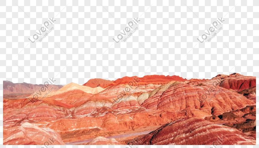 danxia landscape png
