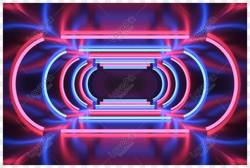 saluran neon keren