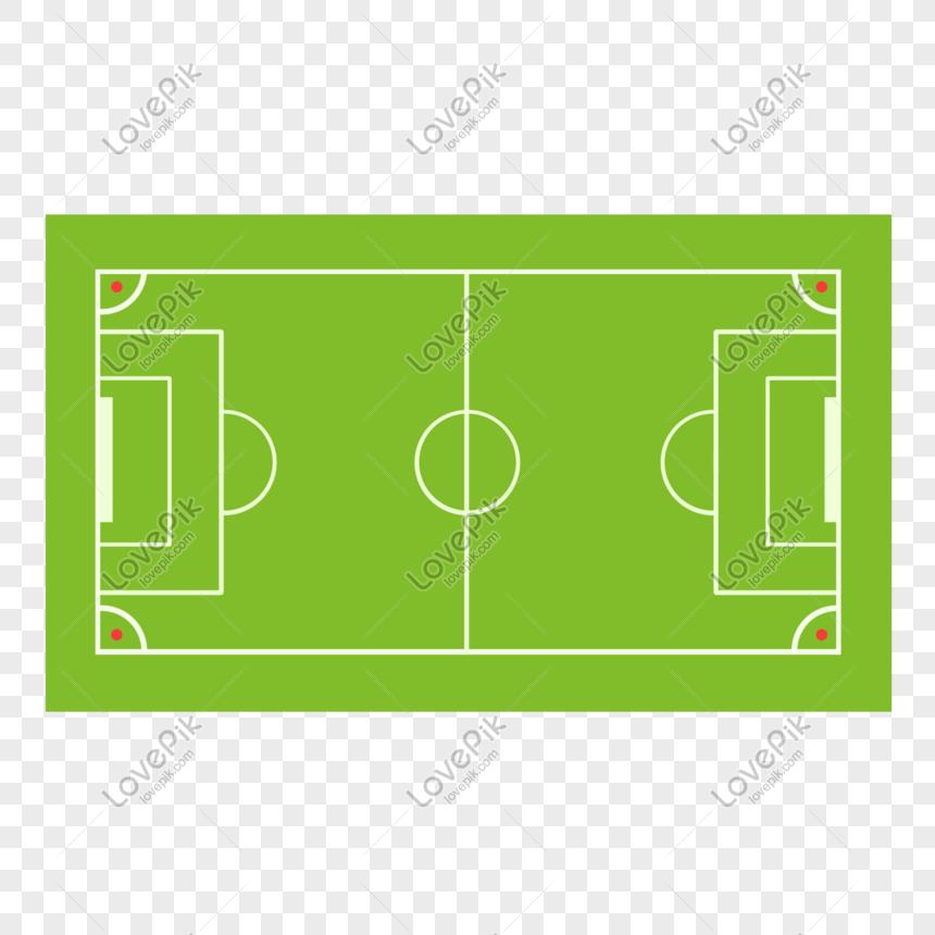 Lapangan Sepakbola Yang Digambar Tangan Png Grafik Gambar Unduh Gratis Lovepik