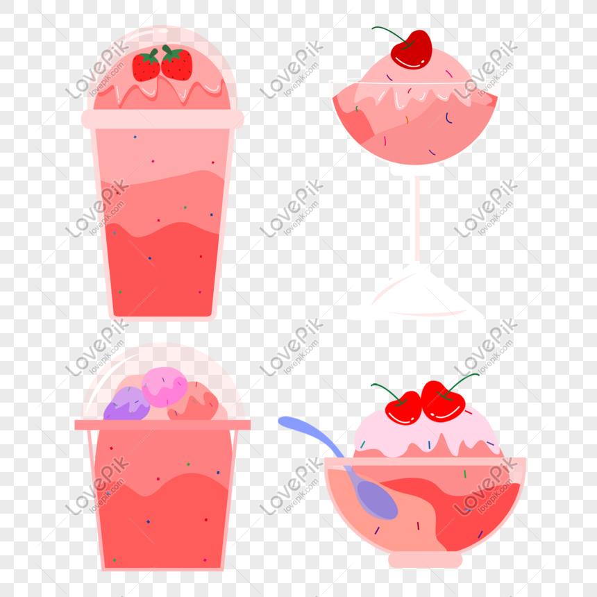ice cream ice cream material png