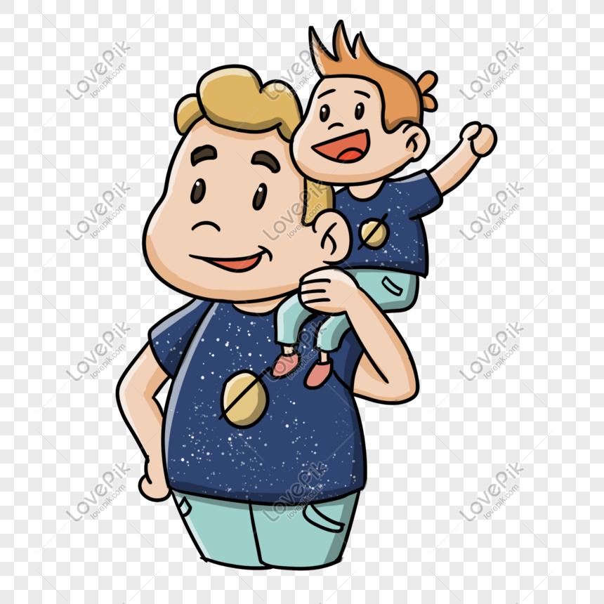 Мультяшная картинка отец и сыночки это мой