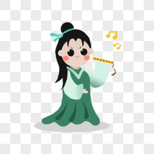 cartoon flute images_326958 cartoon flute pictures free