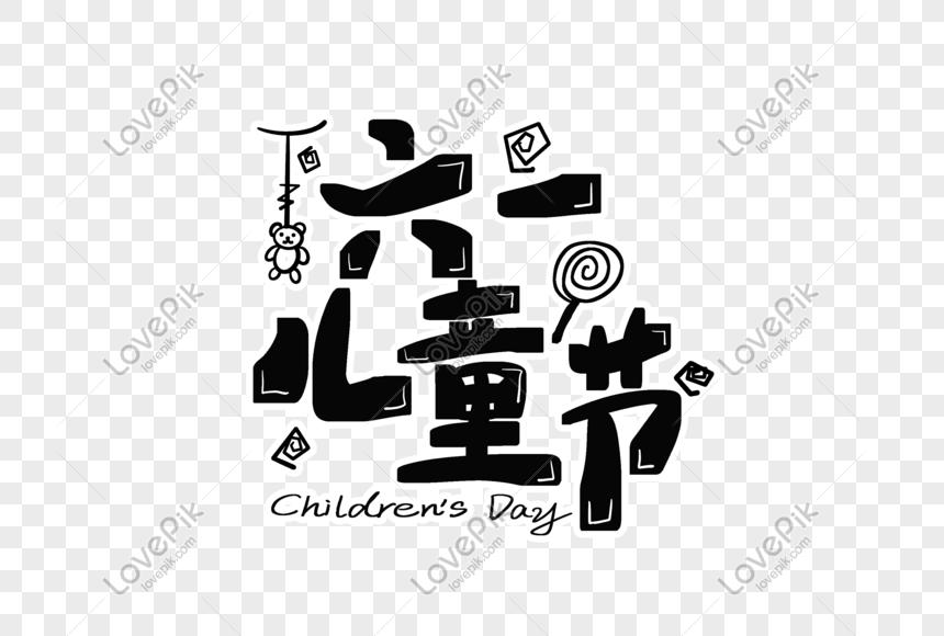 dia das crianças font design png
