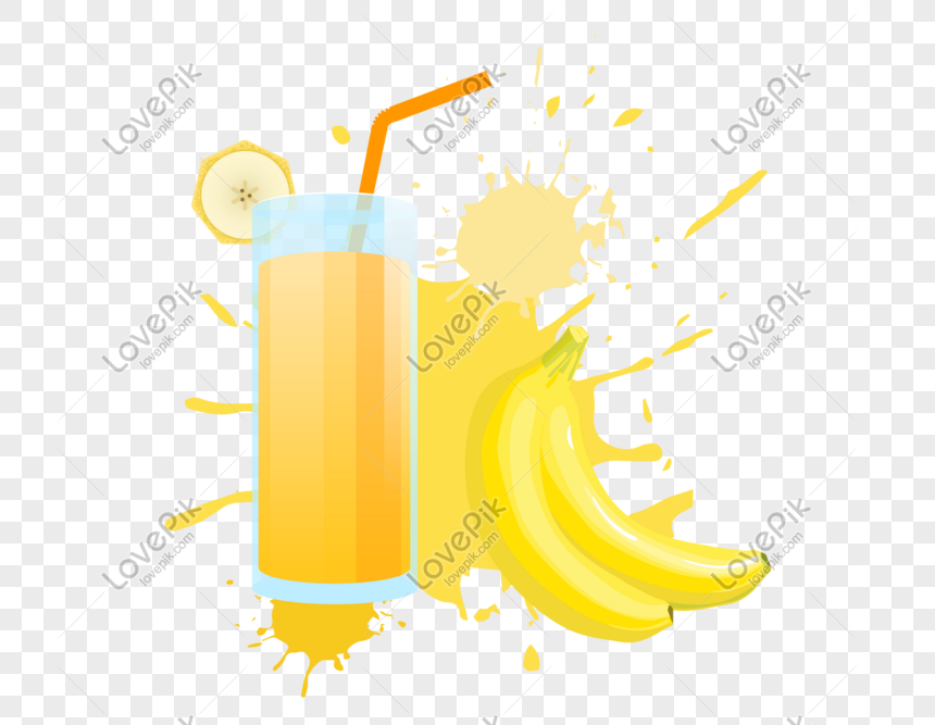 splash juice and banana png image picture free download 401350267 lovepik com lovepik