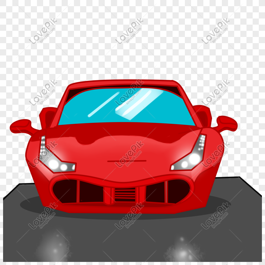 紅色跑車 png