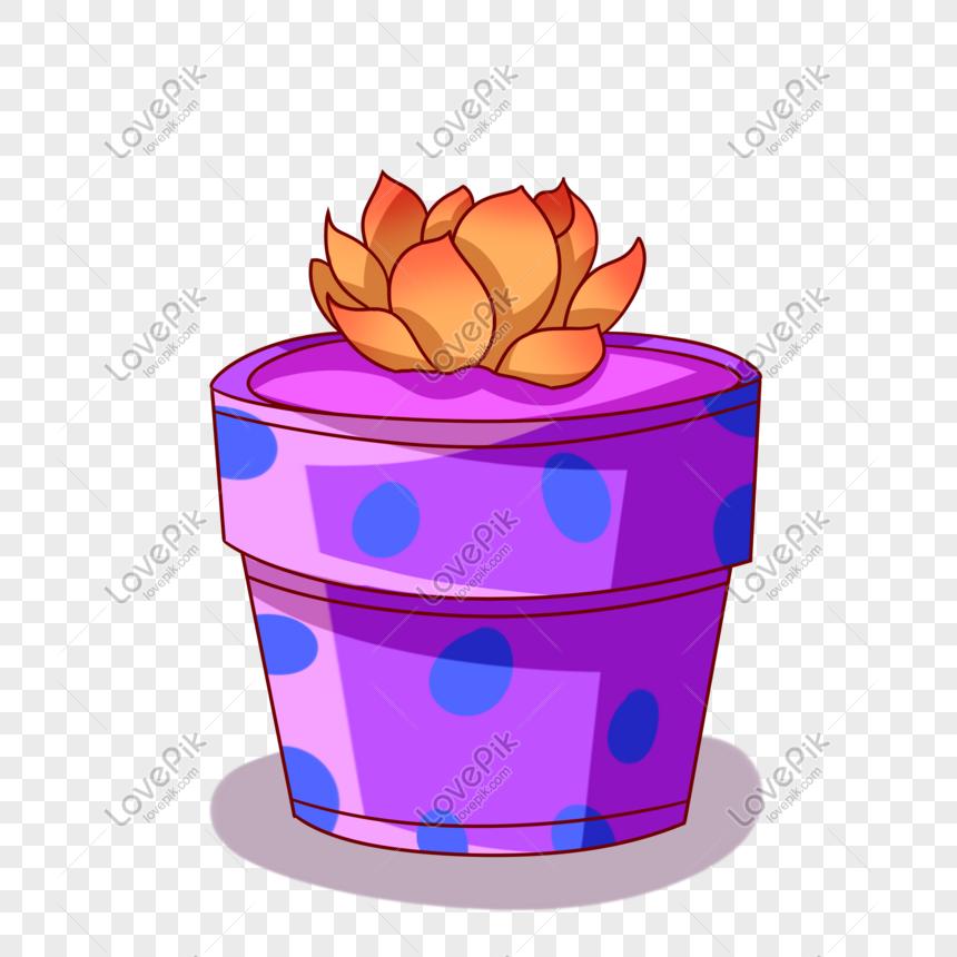 cartoon creative flower illustration png