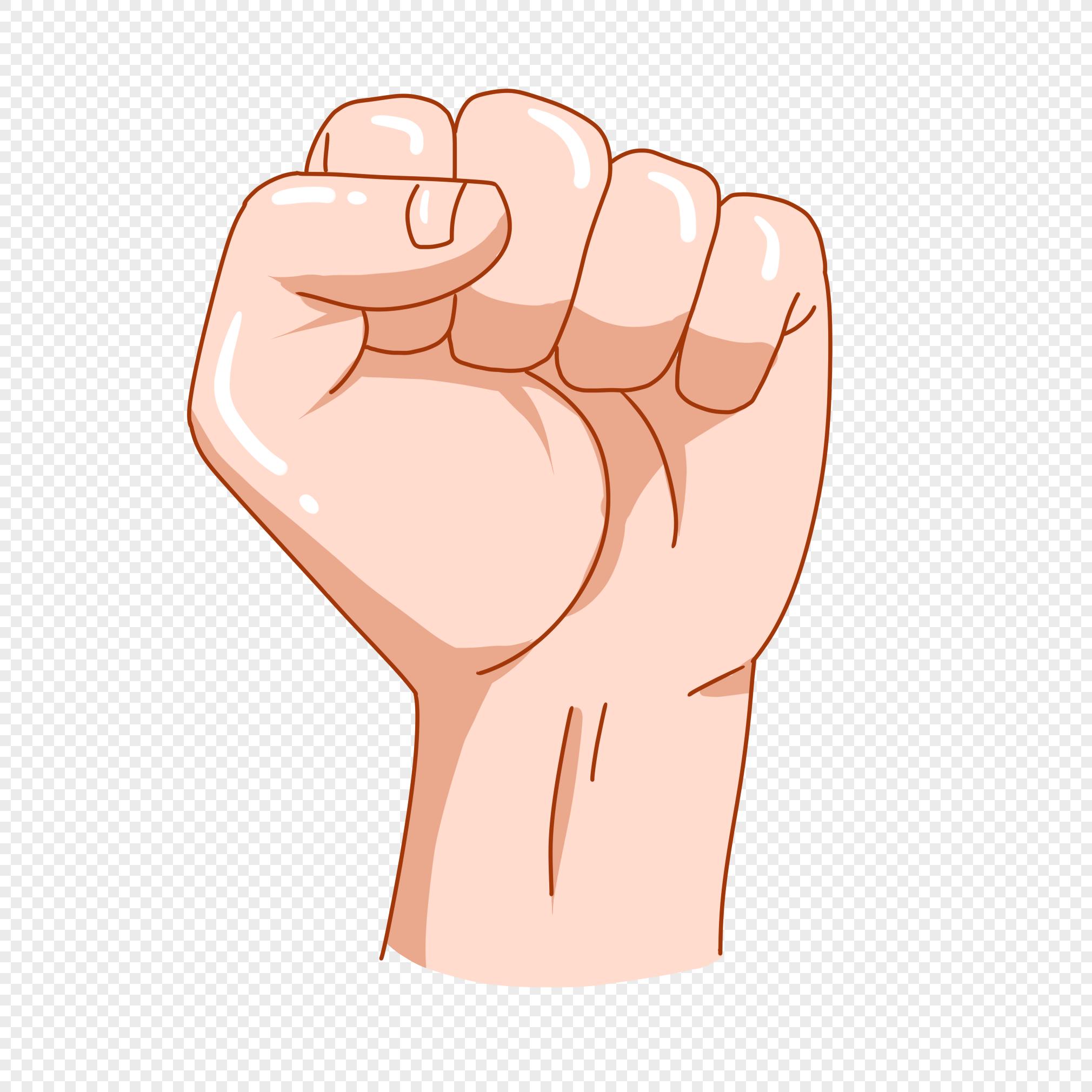 включить картинка кулака мультяшная составе