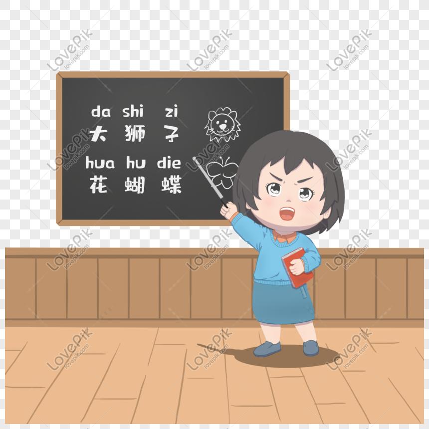 87 Gambar Animasi Guru Sedang Mengajar Kekinian