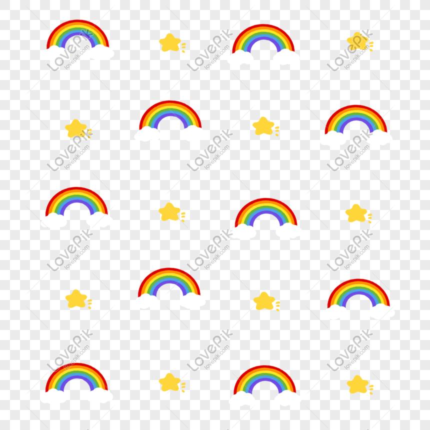 63 Gambar Bintang Pelangi