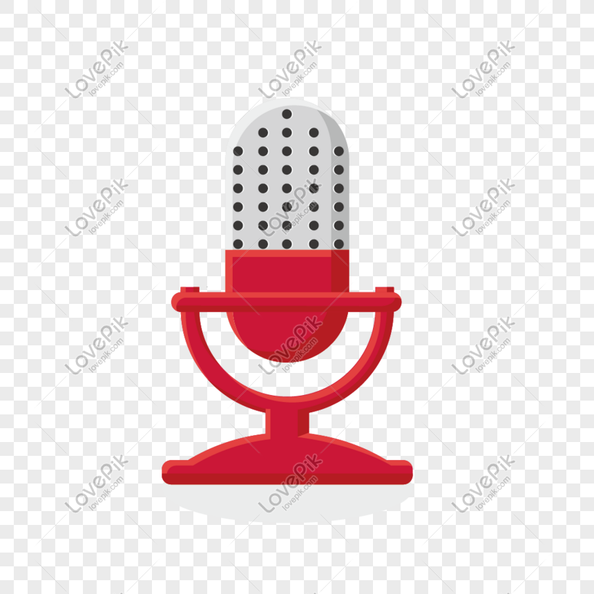 Micrófono De Dibujos Animados Imagen Descargarprf Gráficos