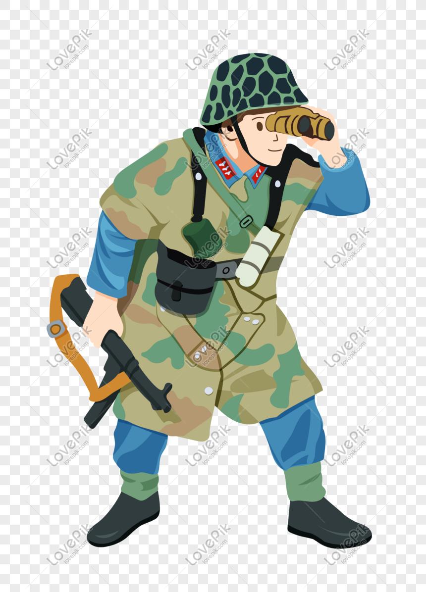 Tentera Tangki Kartun Tangan Gambar Unduh Gratis Imej