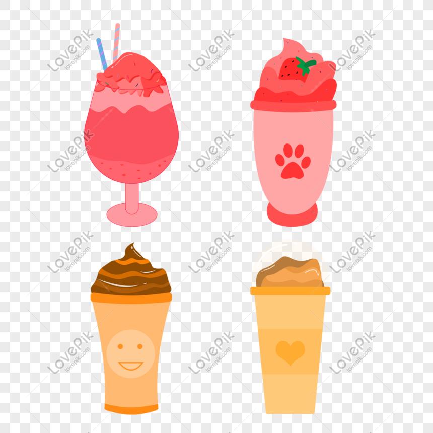 summer ice cream ice cream material png