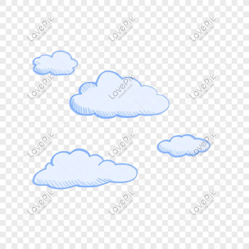 pencil hand painted white cloud png png image picture free download 401375731 lovepik com lovepik