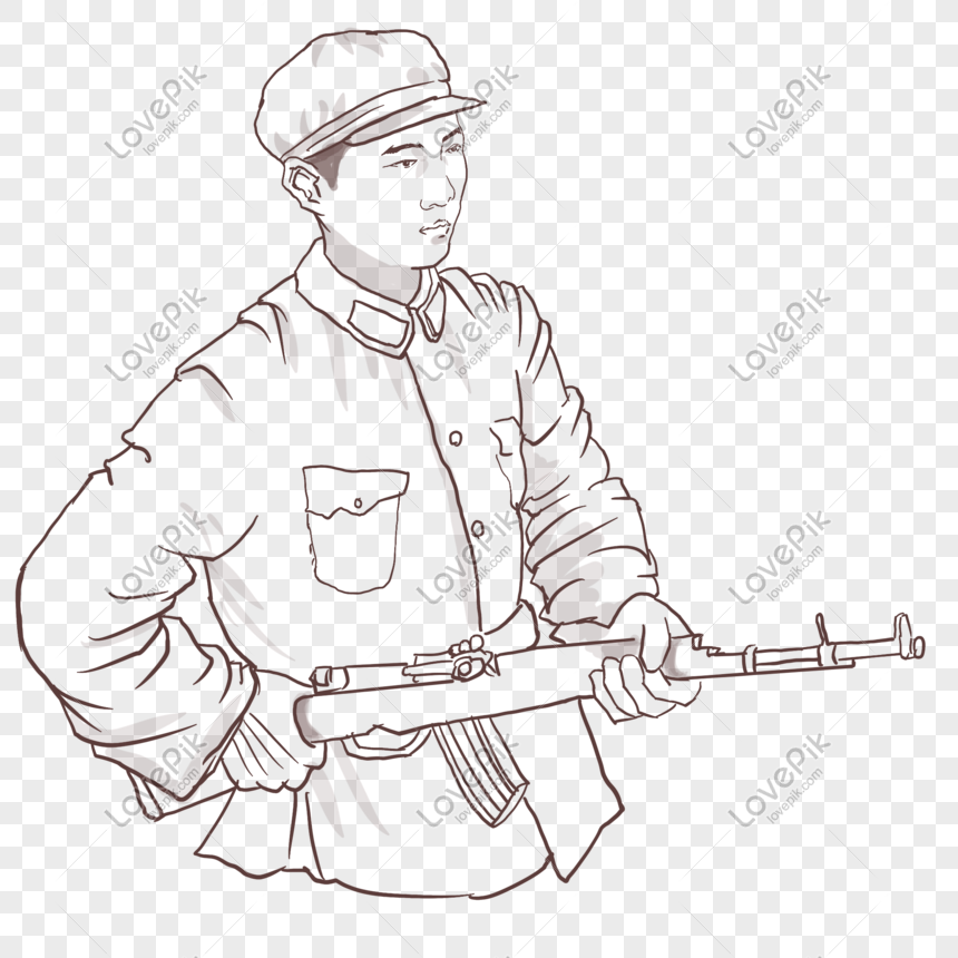 Lovepik صورة Png 401375880 Id الرسومات بحث صور جنود بحمل السلاح