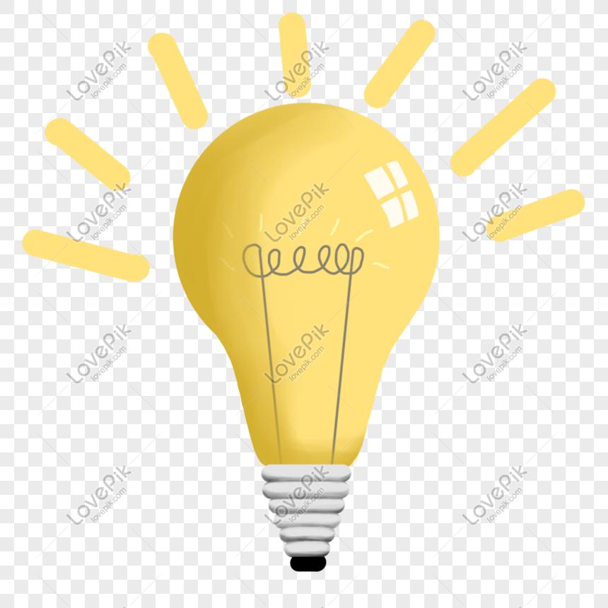 Bahan Gambar Lampu Animasi Bahan Bola Lampu Kartun Bercahaya Png Grafik Gambar Unduh Gratis Lovepik