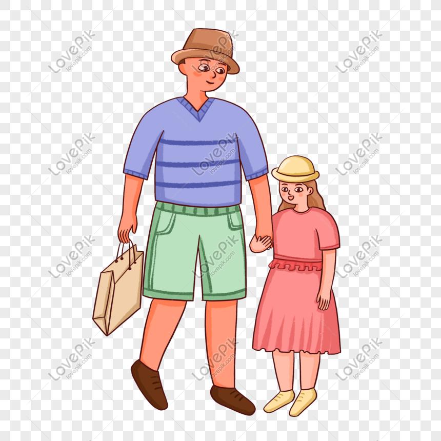 Ayah Menarik Tangan Anak Perempuannya Untuk Berbelanja Gambar Unduh Gratis Imej 401389726 Format Psd My Lovepik Com
