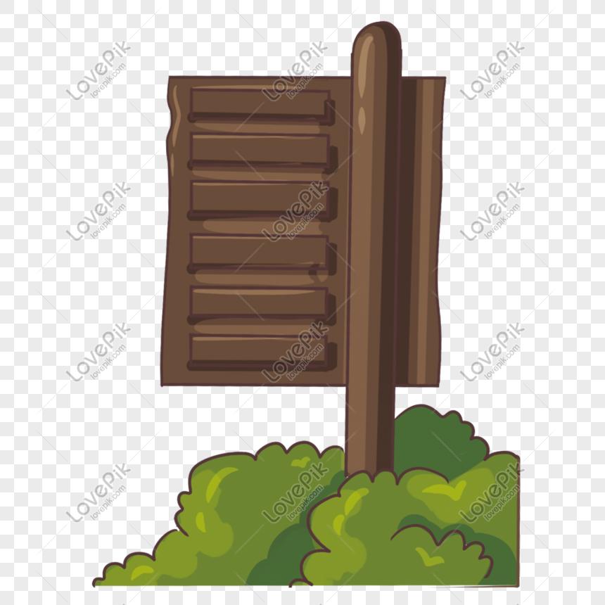 Wooden signage bush decoration png image_picture free download  401392794_lovepik.com
