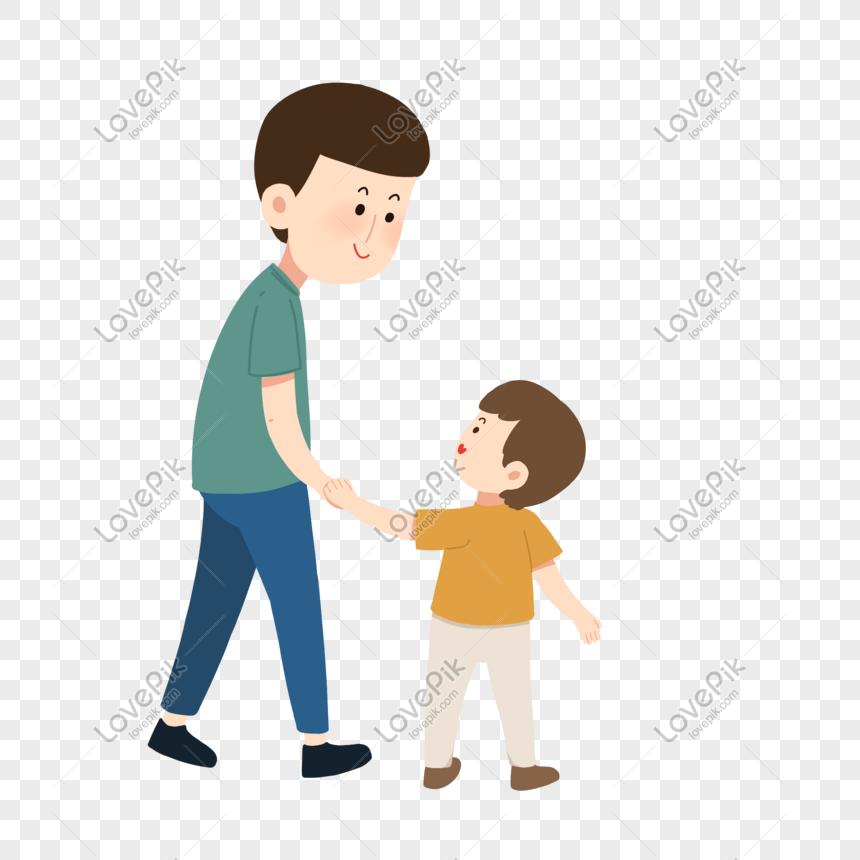 Father And Son Cartoon Png Image Picture Free Download 401395174 Lovepik Com