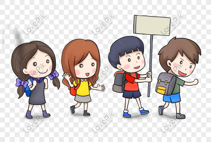 Kanak Kanak Kartun Gambar Unduh Gratis Imej 401396362 Format Psd My Lovepik Com