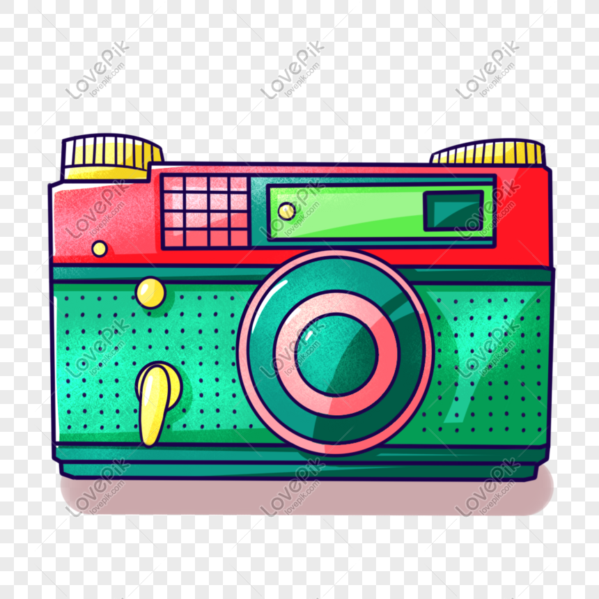 Cartoon Color Digital Camera Png Image Picture Free Download 401402331 Lovepik Com