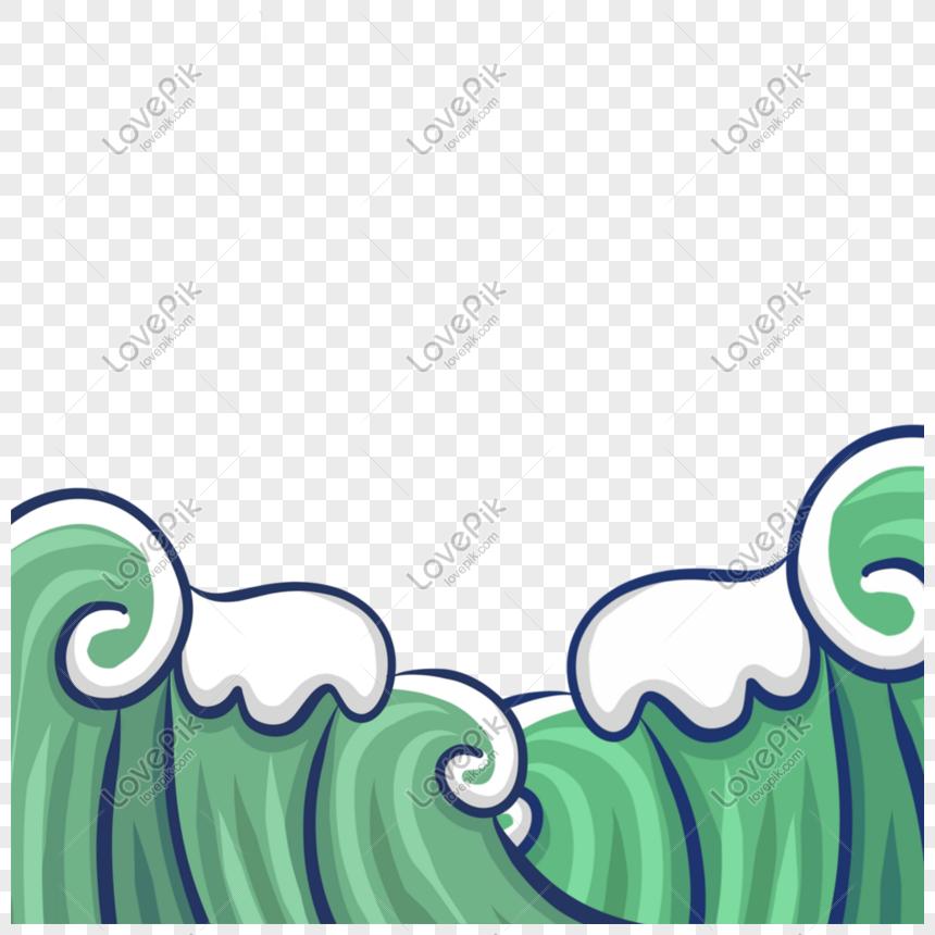 海浪 png