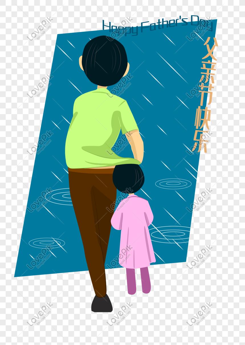 910 Gambar Kartun Ayah Melindungi Anaknya Terbaik