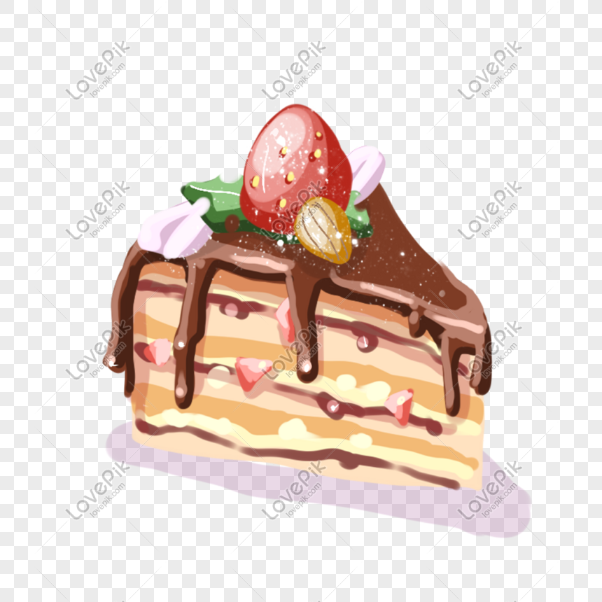 hand painted cake png