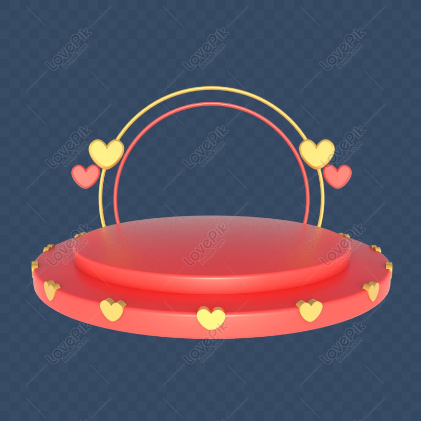 Taobao Rumah Cina Hari Valentine Dekorasi Panggung Hari