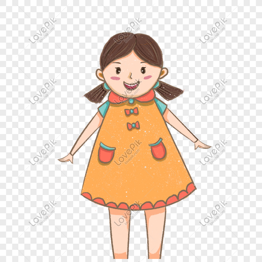 standing girl png