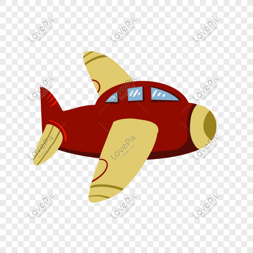 Cartoon Toy Airplane Png Image Picture Free Download
